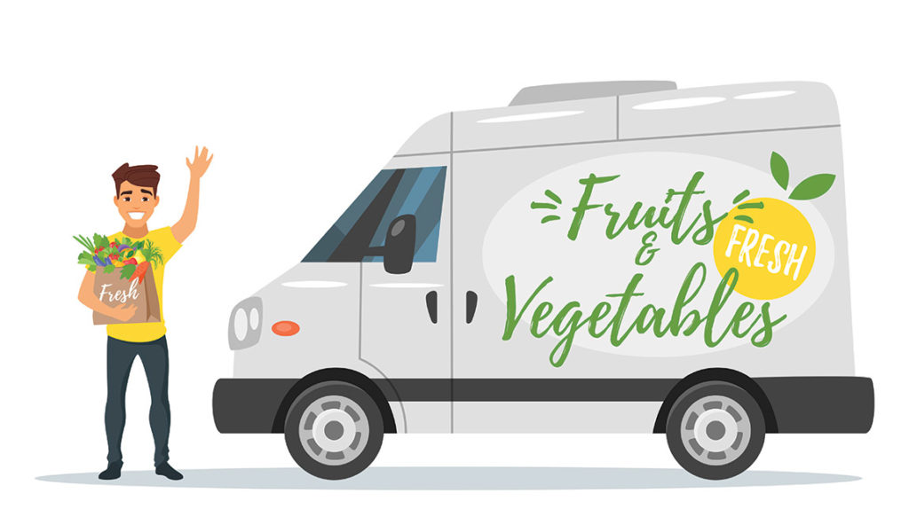 fruit and vegetables delivery